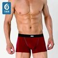 Mens Underwear Modal Men Underwear boxers Sólidos Boxer Shorts Masculino Trecho Cueca U Convexo-Homem Cueca Sexy Tração Em