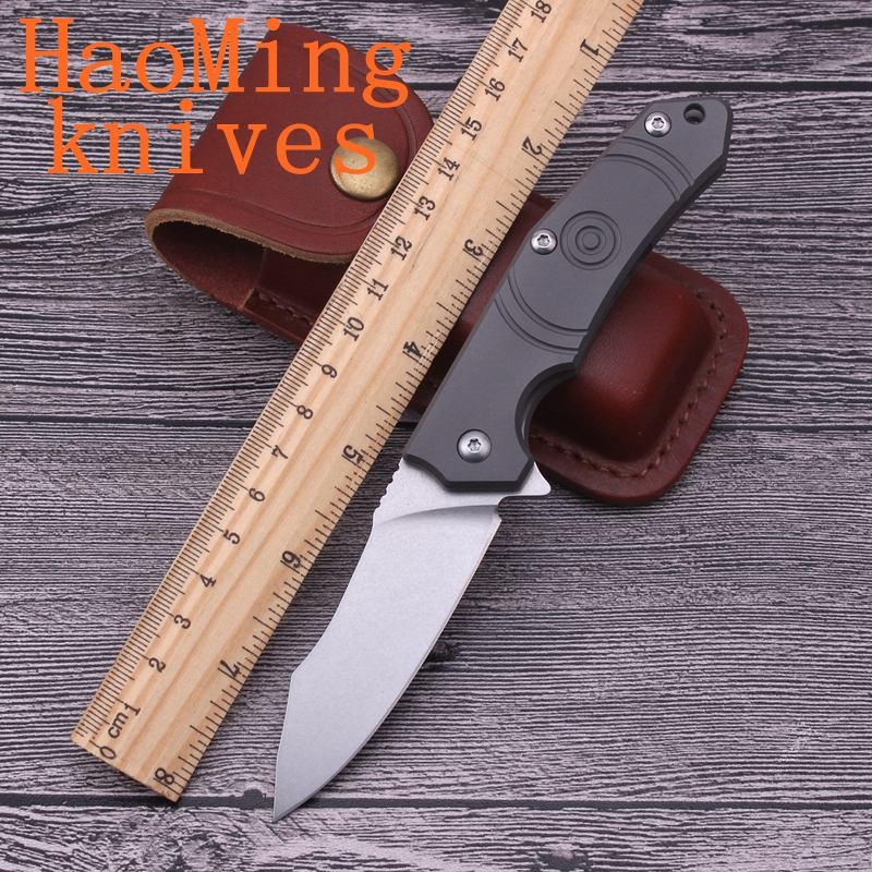 Bearing system portable camping hunting rescue utility folding knife hiking knives tactics D2 steel EDC Outdoor