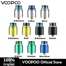 Original VOOPOO Pericles RDA Atomizer with Resin Drip Tip 510 Thread Top/Bottom Feeding Electronic Cigarette Accessories