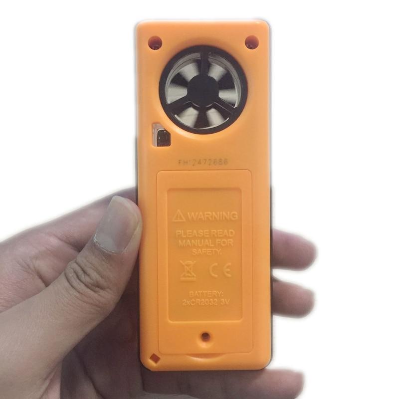 8in1 LCD digitale Anemometro Pressione barometrica Umidità - Strumenti di misura - Fotografia 6