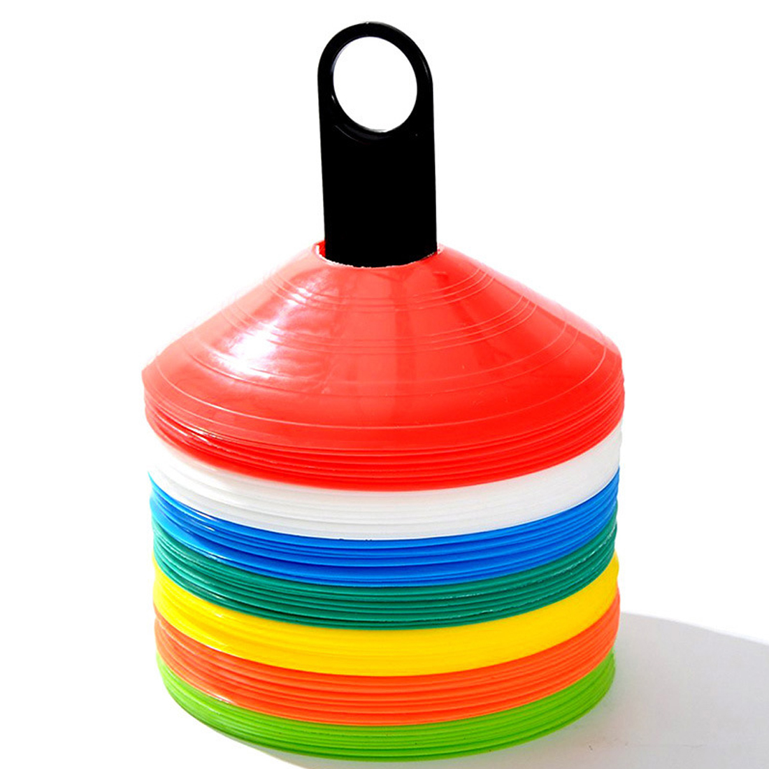 Sports & Fitness Feamos Disc Cone Markers for Soccer Football ...