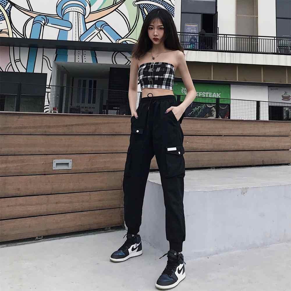 Black Trousers For Women Summer Casual Ankle Length Pants 2019 Tops Saling Joker Safari Style Ladies High Waist Pants Pants Capris Aliexpress