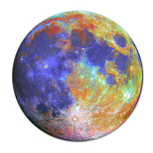 Customize Moon Watercolor Painting Round Mousepad Computer PC Laptop Comfort Gaming Mouse Pad For Gamer Speed Mice Play Mat