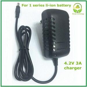 Image 1 - 4.2 V 3A 5.5*2.1mm AC DC Power Supply Adapter Oplader Voor 1 serie 4.2 V 3.7 V 3.6 V 18650 Li Ion Li po Batterij Gratis Verzending