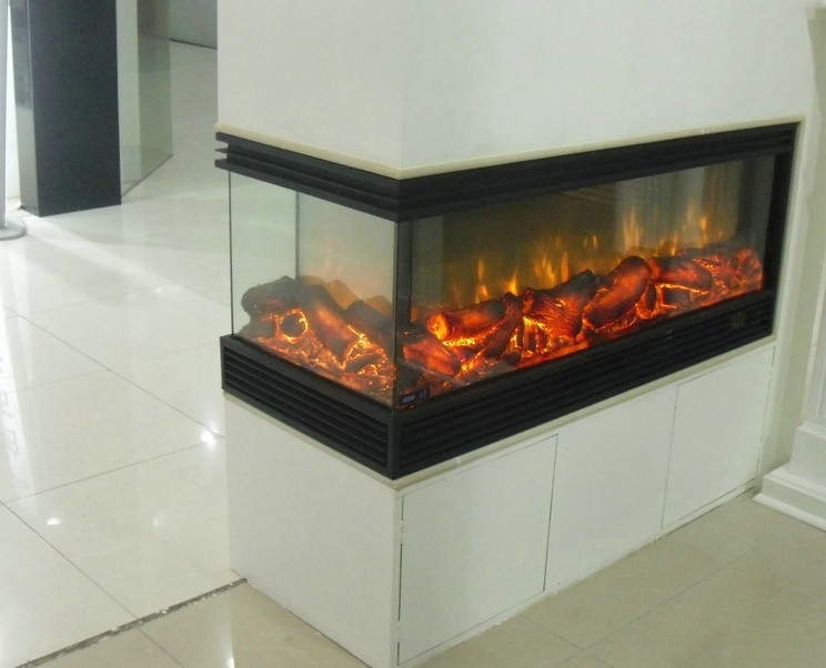 Flame effect can be seen in four directions Decorative Electric fireplace(China  (Mainland) - Compare Prices On Electric Fireplaces Direct- Online Shopping/Buy
