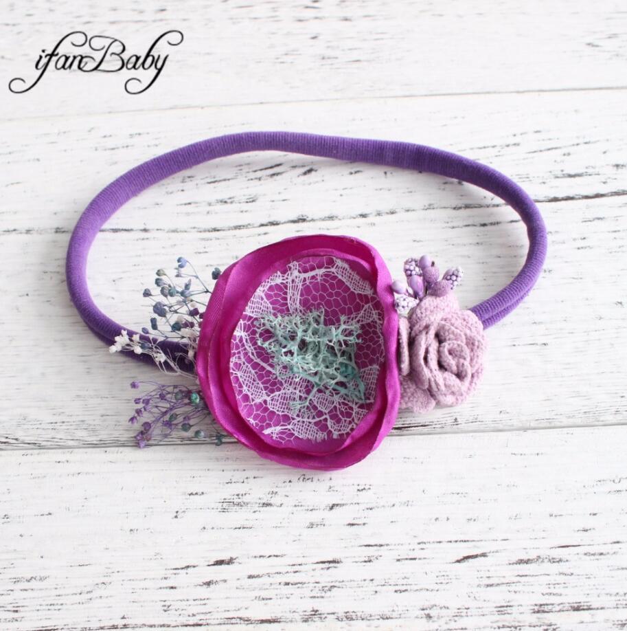 kids girl nylon flower headband (30)