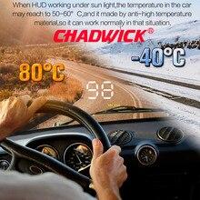 """Numéro Simple afficher HUD numérique voiture compteur de vitesse Auto 3.5 """"tête haute affichage pare brise projecteur Auto marche/arrêt CHADWICK A1000"""