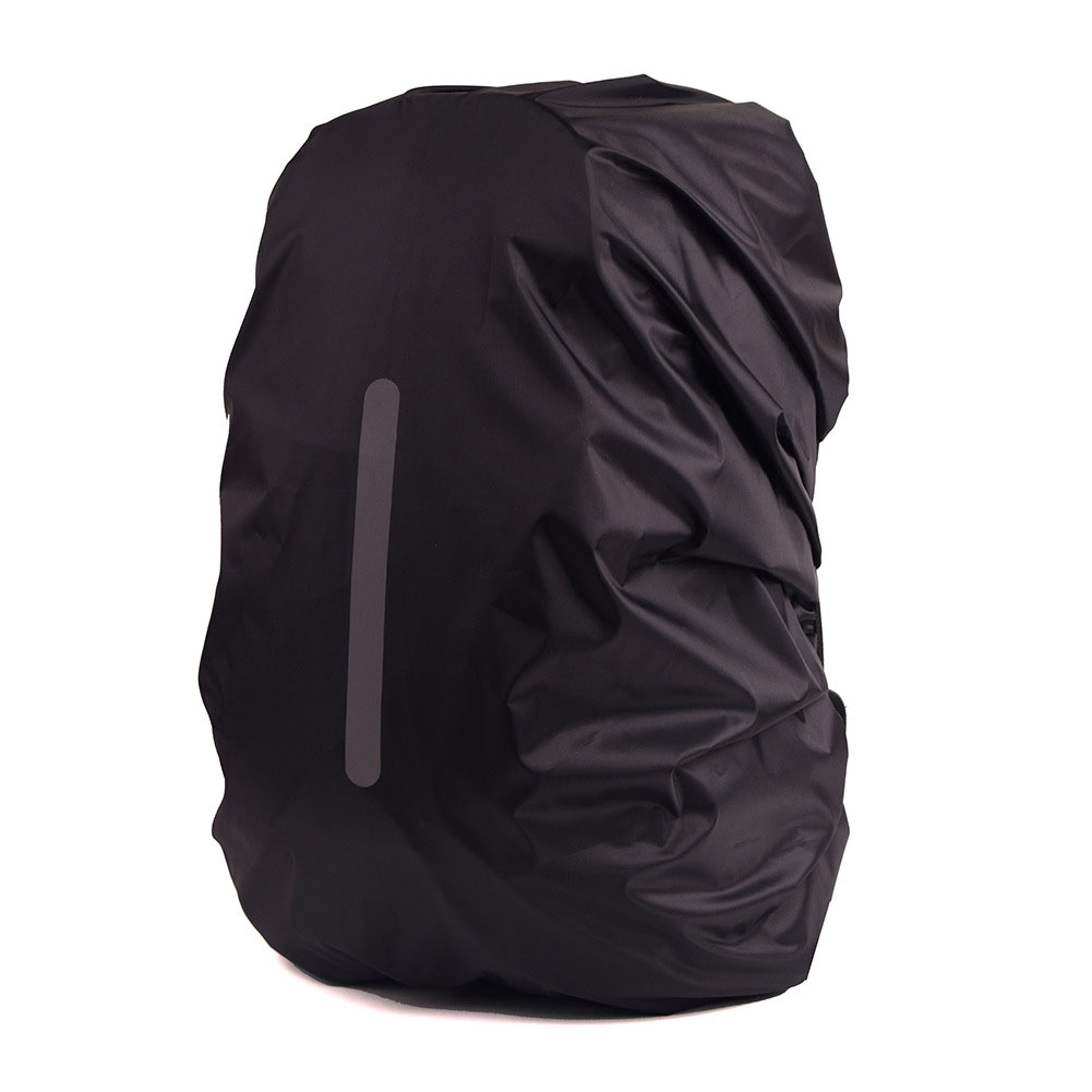 a7433b99a997 Reflective Waterproof Backpack Rain Cover Outdoor Night Safety Light ...