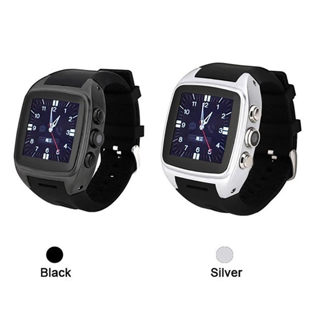 ФОТО 2016 New Android Smart Watch phone X01 SIM+WIFI+3G+512M RAM+4G ROM+Camera+GPS+Dual Core CPU bluetooth smartwatch Phone