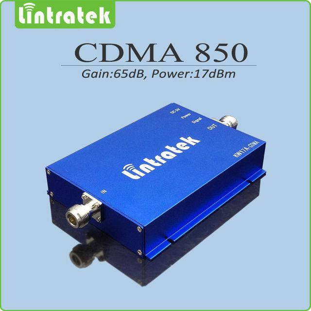 Ganancia 65dB amplificador de señal CDMA 850 mhz repetidor de celular 850 mhz CDMA teléfono móvil señal de refuerzo para home Office