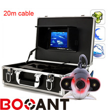 20M for Fish Finder camera 7″ LCD 8GB Underwater Video Camera with 2 Array led