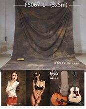 3X6mTye-Die Muslin fundo fotográfico profissional, apaixonado photographie, feitas à mão estúdio de fotografia de casamento fundos F5067