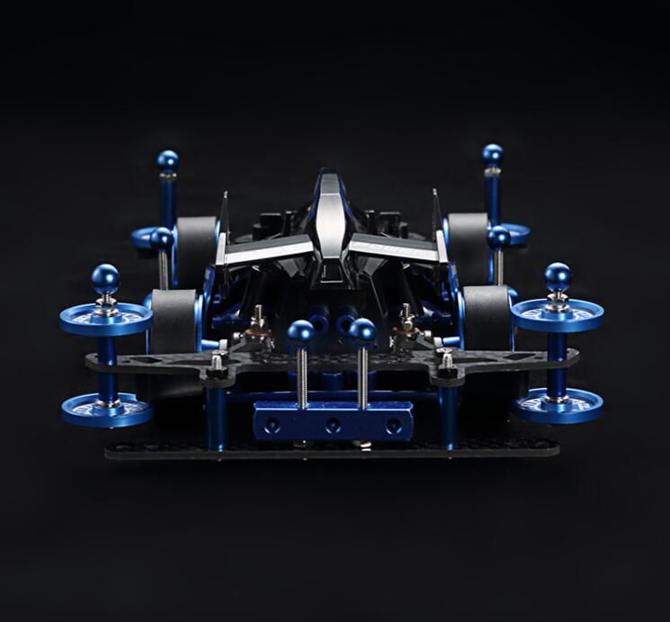1 32 Scale YIKA Mini 4WD Racing Car Model MA Chassis YANGKAI 18641 BARK HORSE with