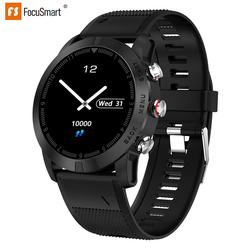FocuSmart S10 inteligentny zegarek mężczyźni 0.96 Cal IP68 wodoodporny smartwatch sportowy śledzenie aktywności HR Monitor inteligentny zegarek dla IOS Andriod|Inteligentne zegarki|Elektronika użytkowa -