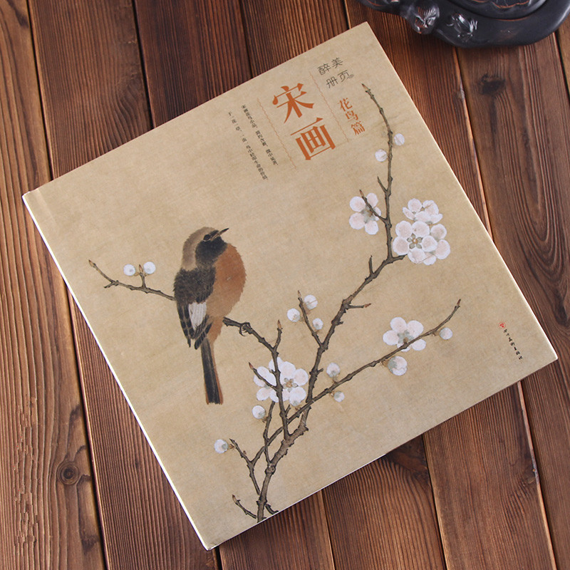 Chinois chanson dynastie peinture livre oiseau et fleur Pinting 191 pagesChinois chanson dynastie peinture livre oiseau et fleur Pinting 191 pages
