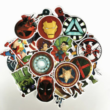 TD ZW 50 Pcs Super Hero Stickers For Snowboard Laptop Luggage Car Fridge Car- Styling Vinyl Decal Home Decor Stickers Pegatinas(China)