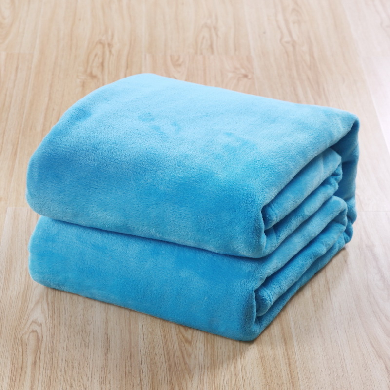 Home Textile Blue Coral Fleece Blanket Soft Warm Fleece Blankets Throw on <font><b>Sofa</b></font>/Bed/Travel Bedspreads Sheet Twin Full Queen Size