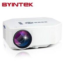2017 BYINTEK LED Portátil Mini HDMI USB VGA Vídeo pICo LCD 1080 P PC hd de Cine En Casa Proyector fUlL hd Proyector Projetor