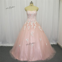 Pink Lace Cheap Quinceanera Gowns Vestidos De 15 Anos Festa Debutante Ball Gown Vintage Sweet 16