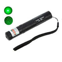 High Power JD-851 Green Laser Pointer Pen 532NM Bright Single Point Starry 2 in 1 Green Laser