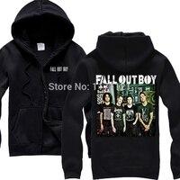 Envío gratis vestido como fall out boy Rock And roll Punk rock envío gratuito populares En Negro Con Capucha