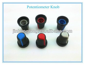 цена на Wholesale Great Design D shaft 6mm Knob for Potentiometer,Control Knob,Rotary Knob Free Shipping