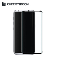 CHEERYMOON Real 3D Full Glue For Samsung Galaxy S8 S8 Plus Full Cover Front Mobile Phone