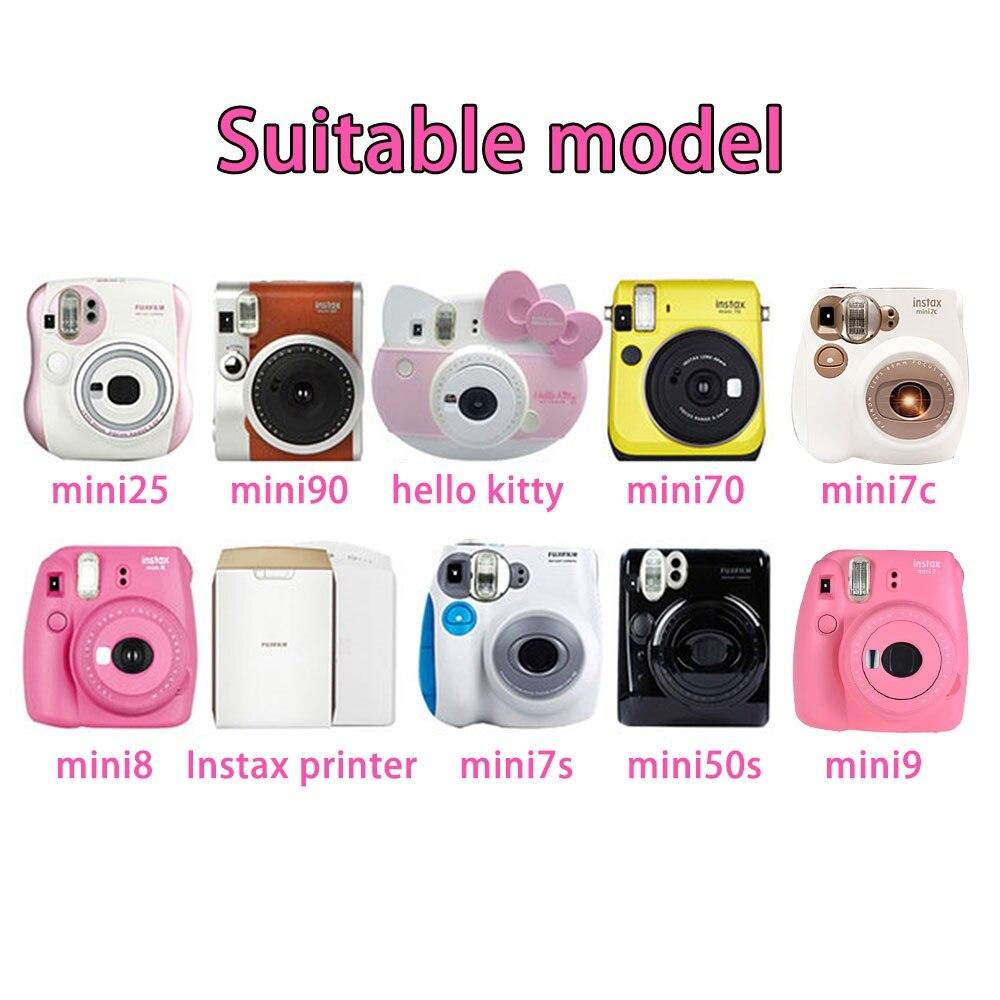 20 pièces/boîte fujifilm instax mini 8 9 film 40 feuilles pour appareil Photo instantané mini 7 s 25 50 s 90 papier Photo bord blanc film de 3 pouces de large - 5