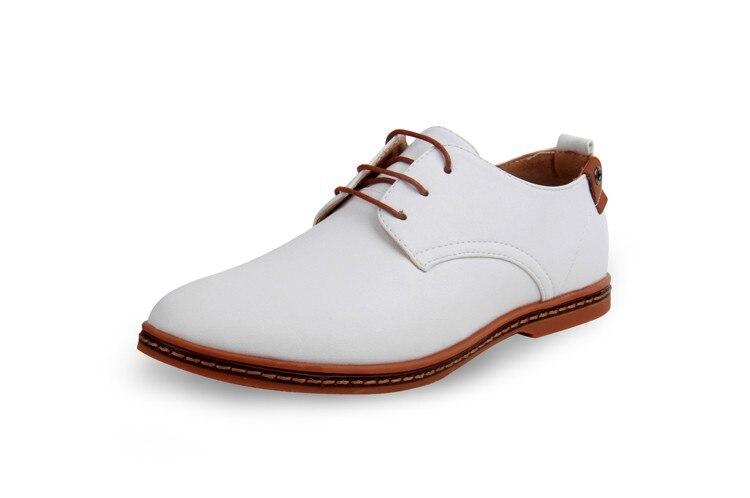 Hot Sale New oxford Casual shoes Men Fashion Men Leather Shoes Spring Autumn Men Flat Patent Leather Men Shoes WGL-K03-1 13