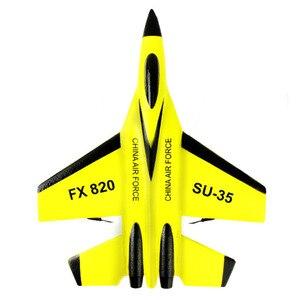 Image 2 - Super Cool RC Luta de Asa Fixa RC zangão 820 Aviões de Controle Remoto 2.4G Modelo RC Zangão Helicóptero Quadcopter