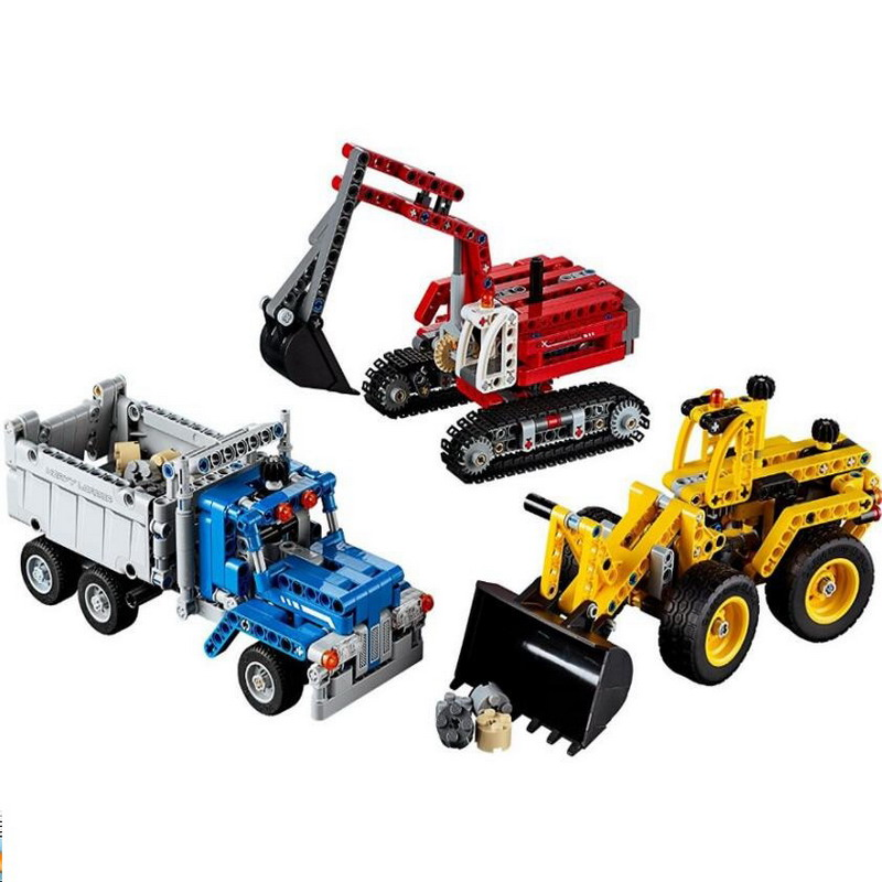 834Pcs Decool 3365 Technic City Series Construction Crew Figure Blocks Compatible Legoe Building Bricks Toys For Children decool technic city series excavator building blocks bricks model kids toys marvel compatible legoe