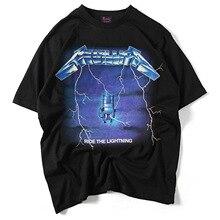Angst God Rock Band mannen T-shirt 3D Print Korte mouw T shirt Losse  Europese Size Mannen Katoenen t-shirt Casual Tops