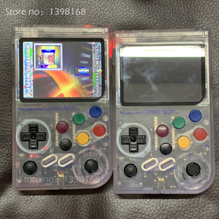 New 3.5 Inch IPS Screen Raspberry Pi arcade Handheld Game Player Classic Games Pi 3 Model A Emulator Retro Game Consol