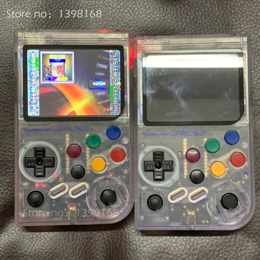 Nuovo 3.5 Pollici IPS Dello Schermo di Raspberry Pi arcade Palmare Giocatore del Gioco Giochi Classici Pi 3 Modello di UN Emulatore Retro Game consolle