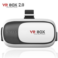 New Google Cardboard VR BOX Ii Version VR Virtual Reality Glasses 3d Movie Game With Resin