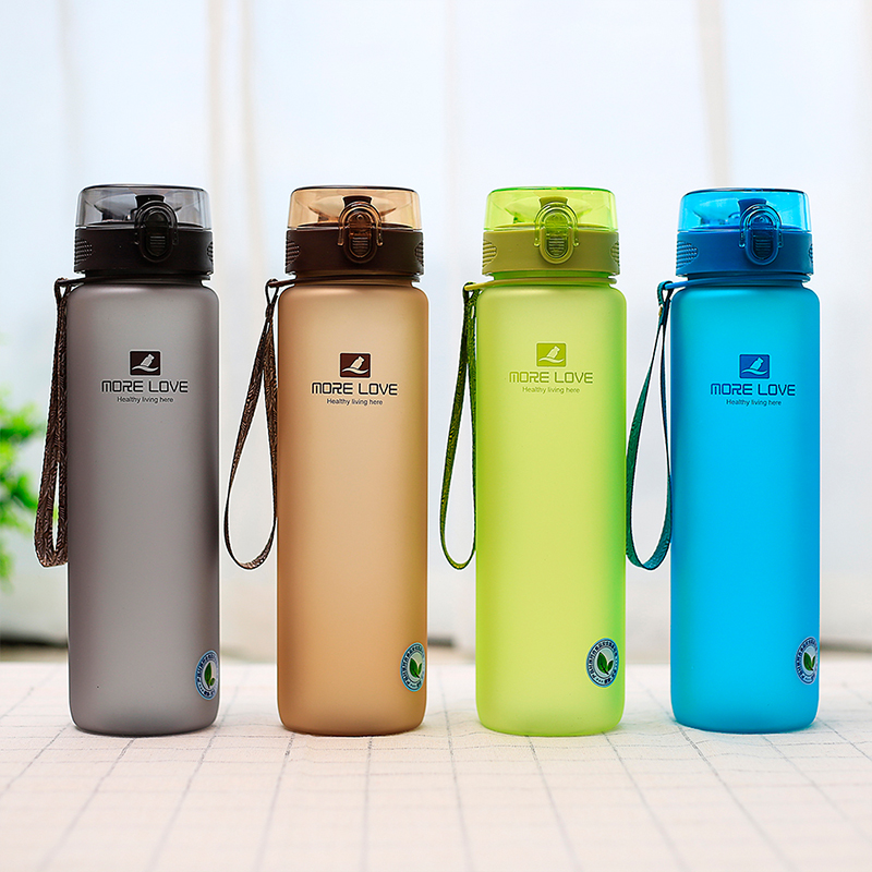 CASNO Premium Sports Water Bottle1050ml With Leak Proof Flip Top Lid For The Gym Yoga Outdoors Cycling and Camping bottle