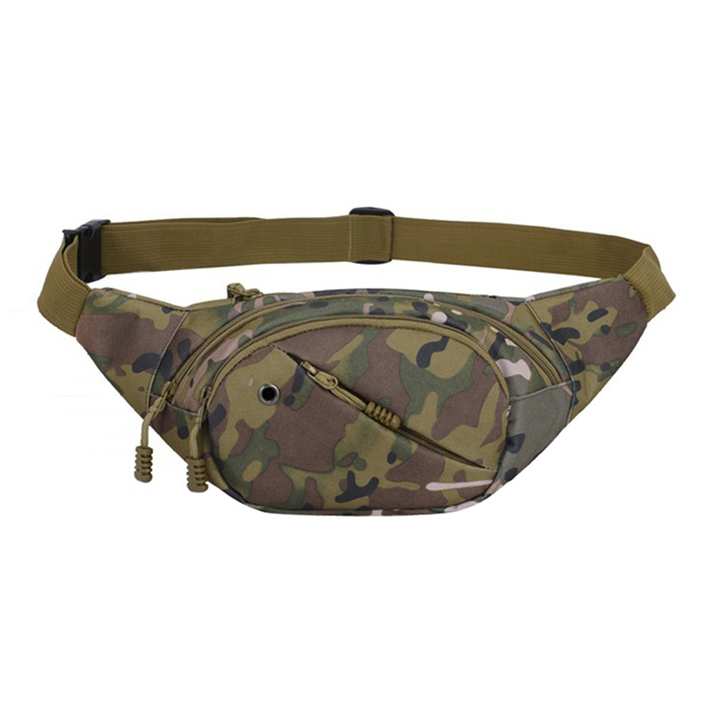 Shoulder Bags For Men Unisex Fashion Multifunction Crossbody Bag Camouflage Outdoor Casual Chest Bag Bague Homme