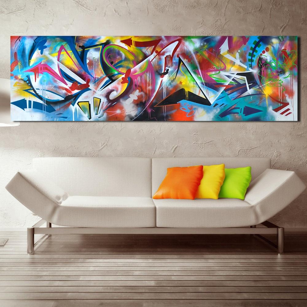 5 панелей без рамы современная живопись на холсте картина маслом Картина комнаты настенный ковер декор