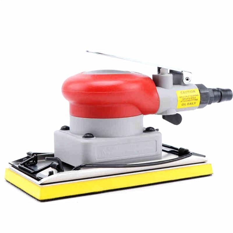 Vibration Type Auto Pneumatic Sanding Machine 20331 Rectangle Car Air Grinder Sander Polisher 75X150mm
