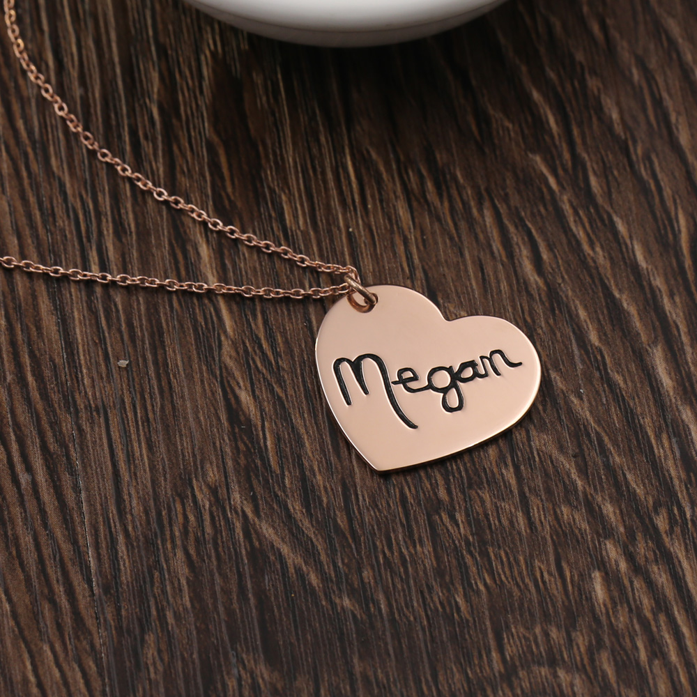 Aliexpress.com : Buy Engraved Arabic Name Customized Necklace Any ...