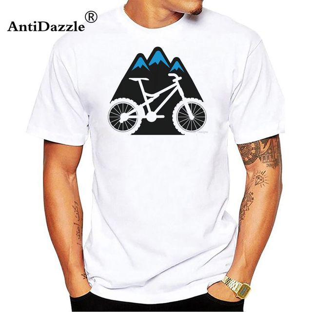 Antidazzle T Shirt Mens Mtb Short Sleeve Evolution Of Mountain
