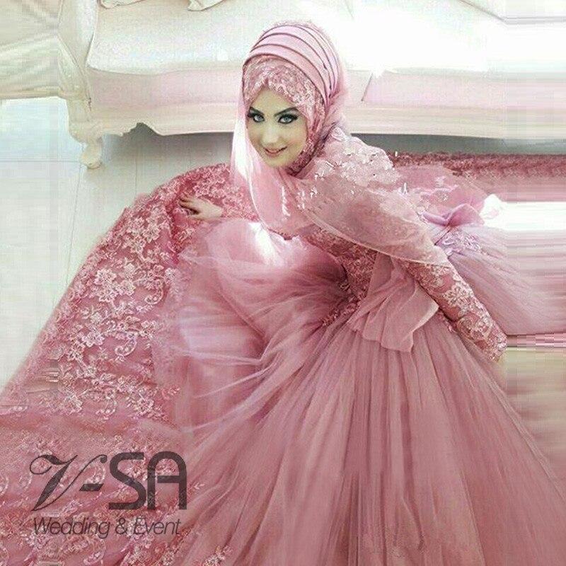 Lujo Vestido De Boda Musulmán Fotos Imágenes - Ideas de Vestido para ...