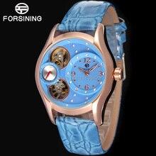 Известный Бренд Forsining Кварцевые Леди наручные часы Кольцо Часы на Женщин Доставка Бесплатно FSL8014Q3R2