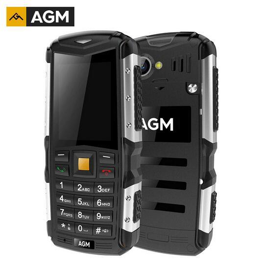 Gift AGM M1 IP68 Waterproof 2 0 3G Mobile Phone 2 0MP 2570mAh Dual SIM Dual