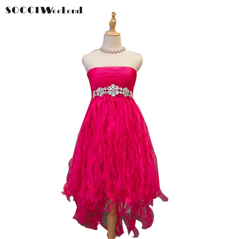 Robes De bal courtes rouges robe De Gala robes De Fiesta Elegante élégantes robe De grande taille robes De cocktail bleues