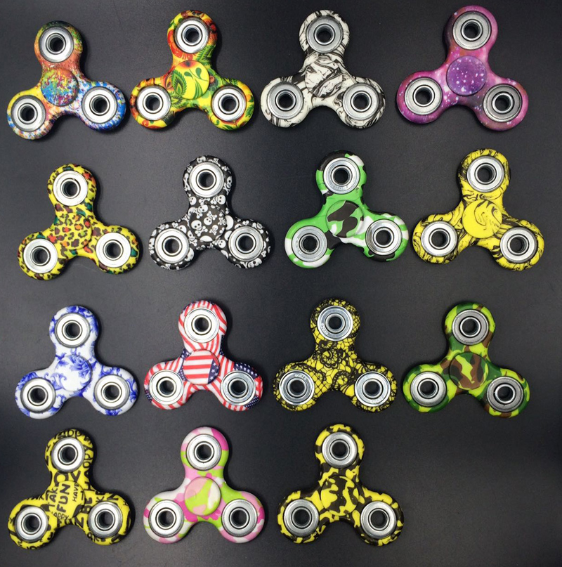 Stress wheel Hand Fidget Spiner Figet spinner Top spinner toy Skinner Spinner...