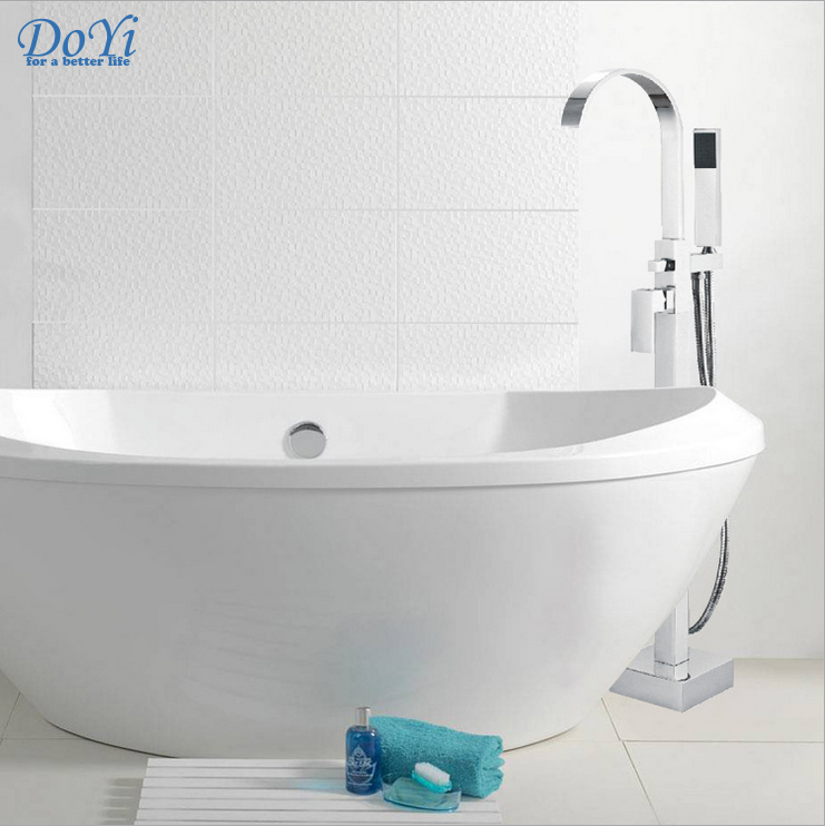 Dofaso brand for best or nothing prime quality Bath & Shower Faucets Floor Stand bath tub Faucets Christmas gift shower for your image