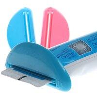 New Arrival 2 Pcs Bathroom Dispenser Toothpaste Squeezer Lovely Convenient Daily Gadget BI8R
