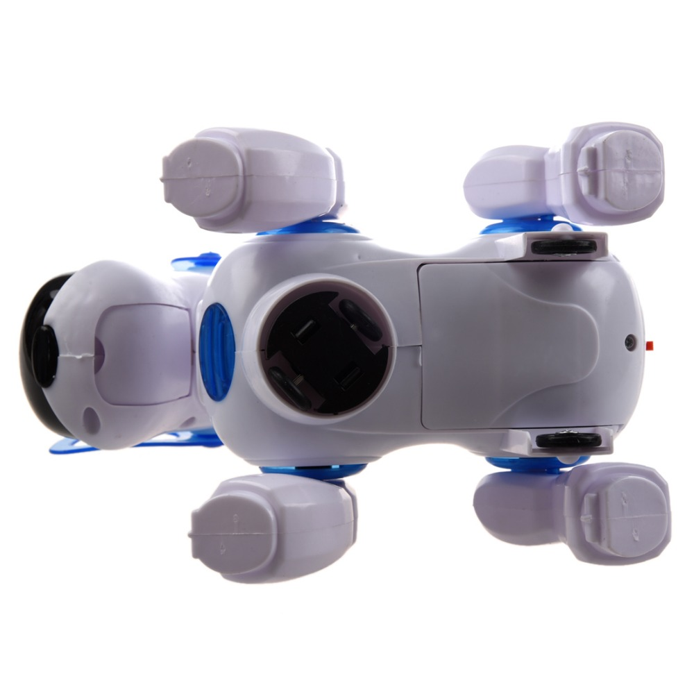 Robot Dog Lovely Music Shine Intelligent Electronic Robot Walking Dog Puppy Action Toy Pet Kids Baby with Music Light