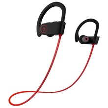 Wireless Bluetooth Headset Earhanger Earphones Earbuds Sweatproof Earphones for Sports With Mic(Up to 7H Play Time, Super Bass)(China)